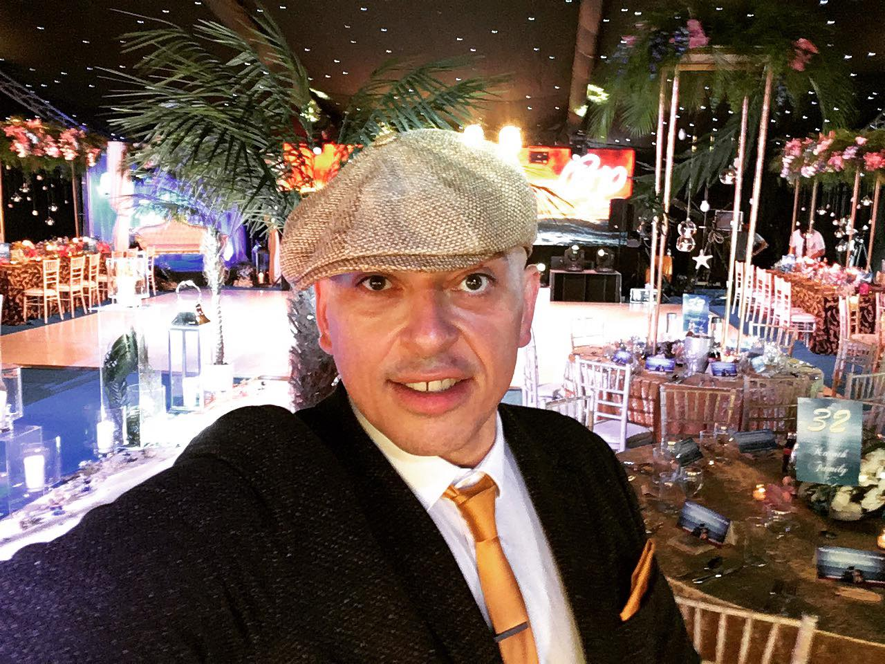 Andy Sax DJ Bups Saggu Newcastle Racecourse Indian Wedding