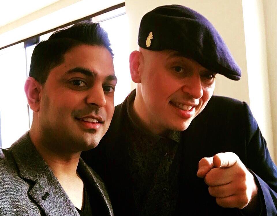 Andy Sax DJ Resh Indian Wedding