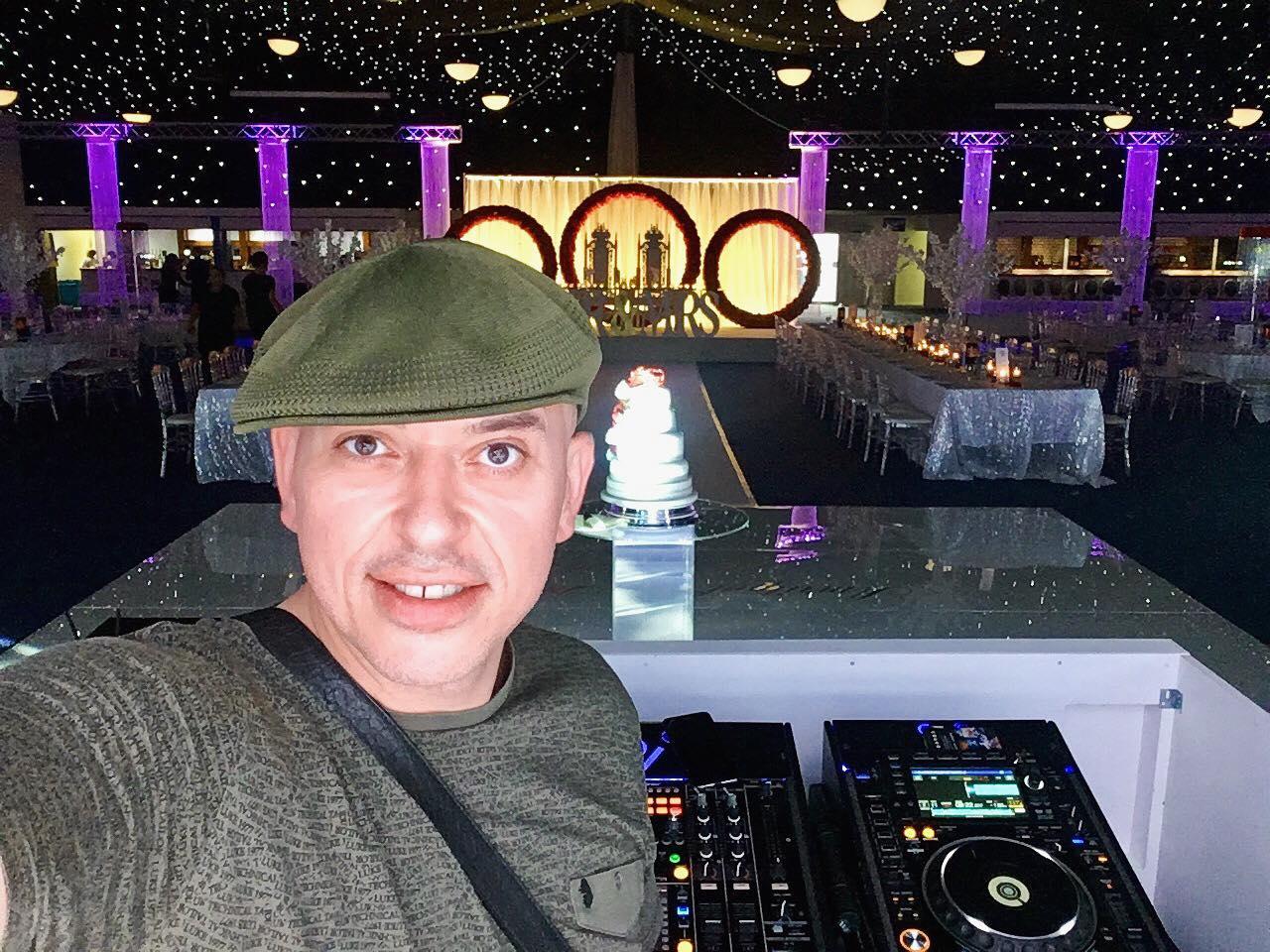 Andy Sax DJ Sunny Jagpal Centenary Pavillion Elland Road Leeds United F.C. Indian Wedding