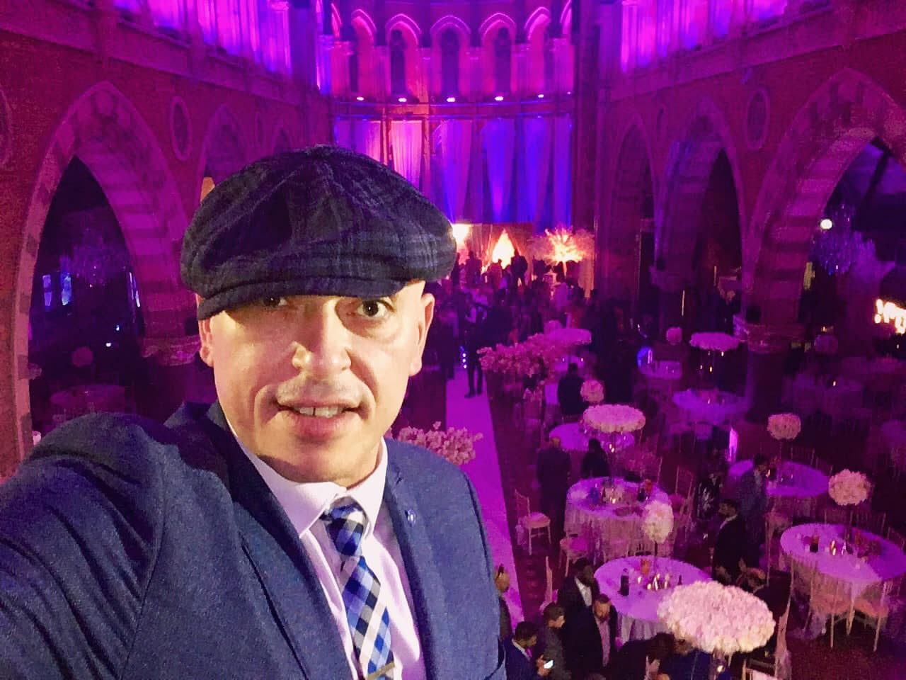 Andy Sax DJ Sunny Jagpal Empire Hall Leicester Indian Wedding