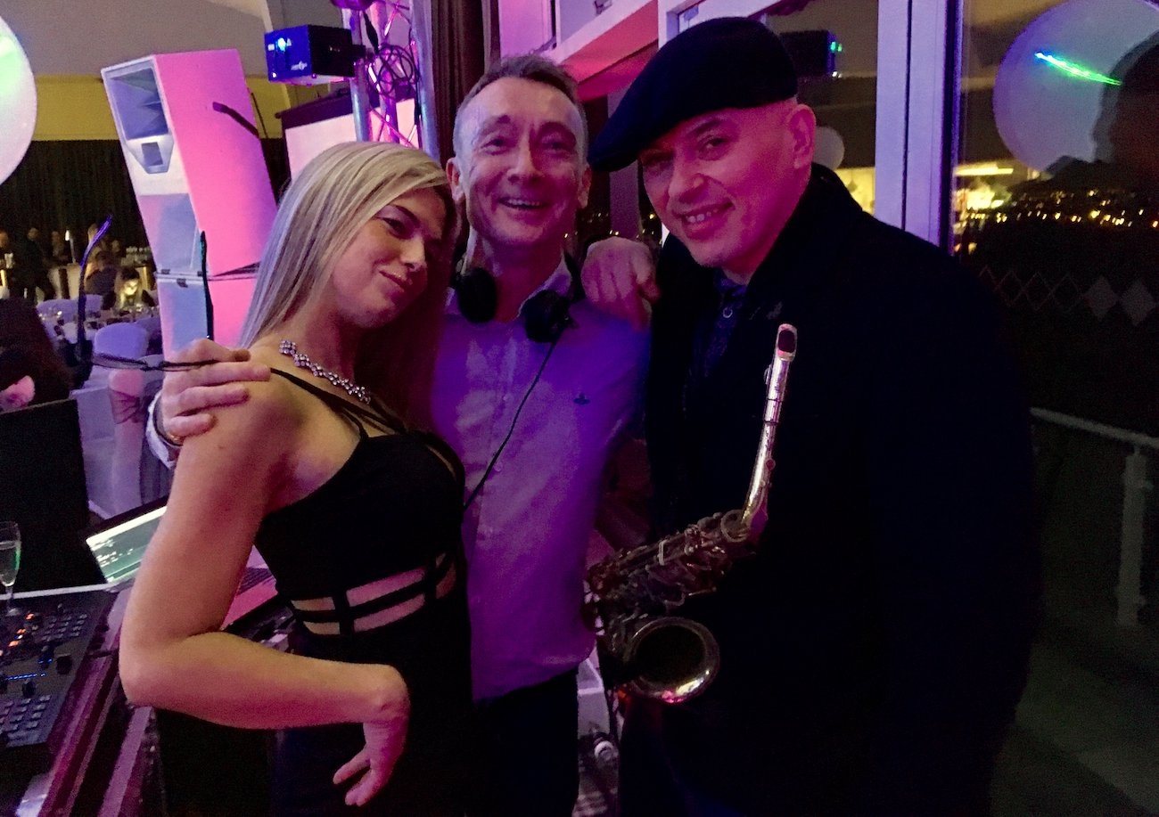 Andy Sax John Kelly Aintree Racecourse Liverpool