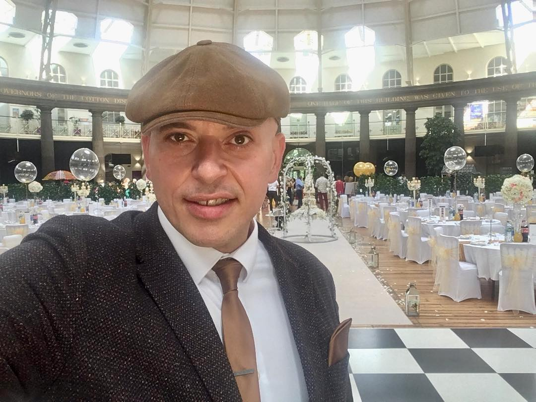 Andy Sax Kudos Music Devonshire Dome Buxton Indian Wedding
