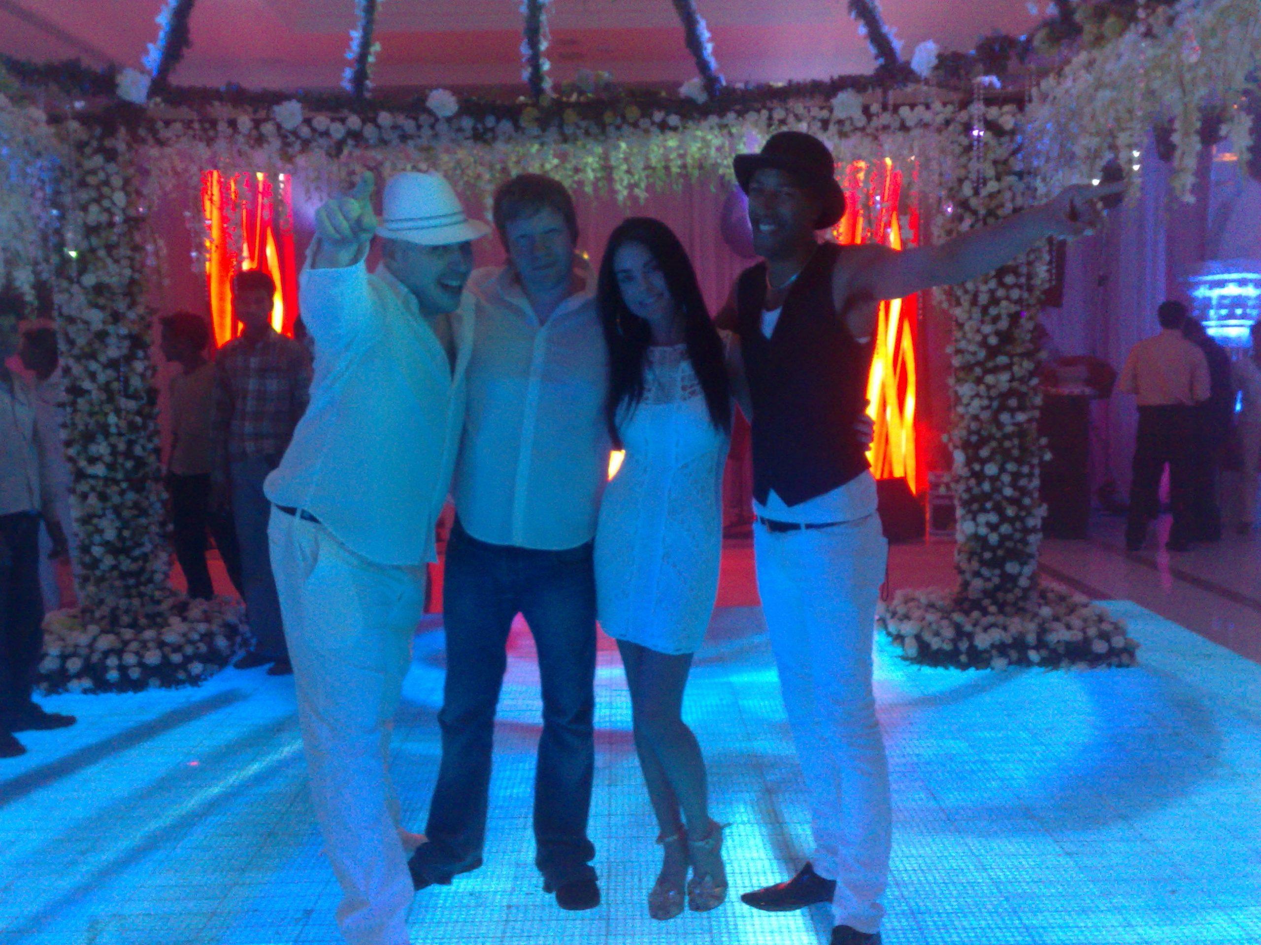 Andy Sax & the crew ITC Maurya Hotel New Delhi