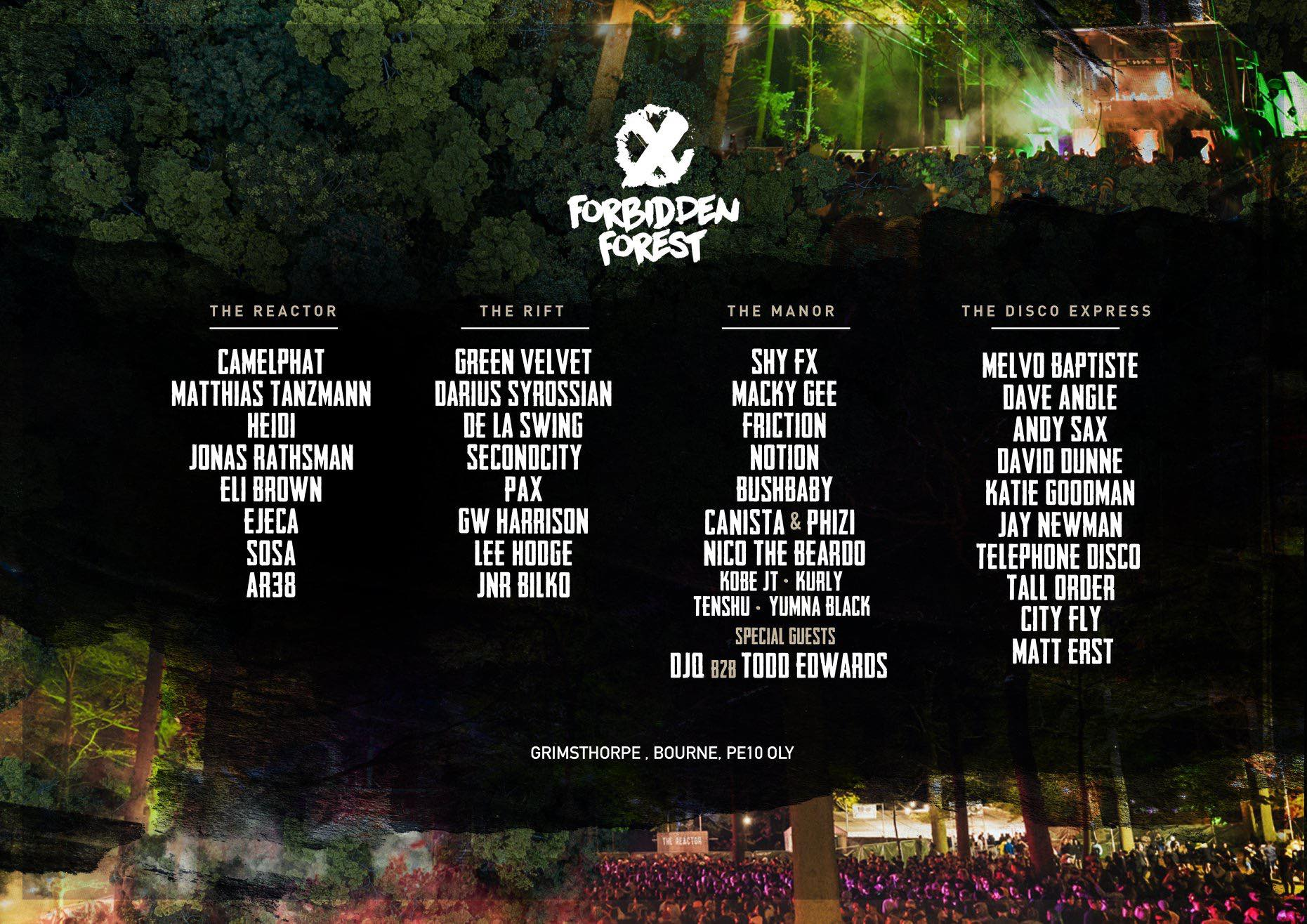Forbidden Forest Sept 2019