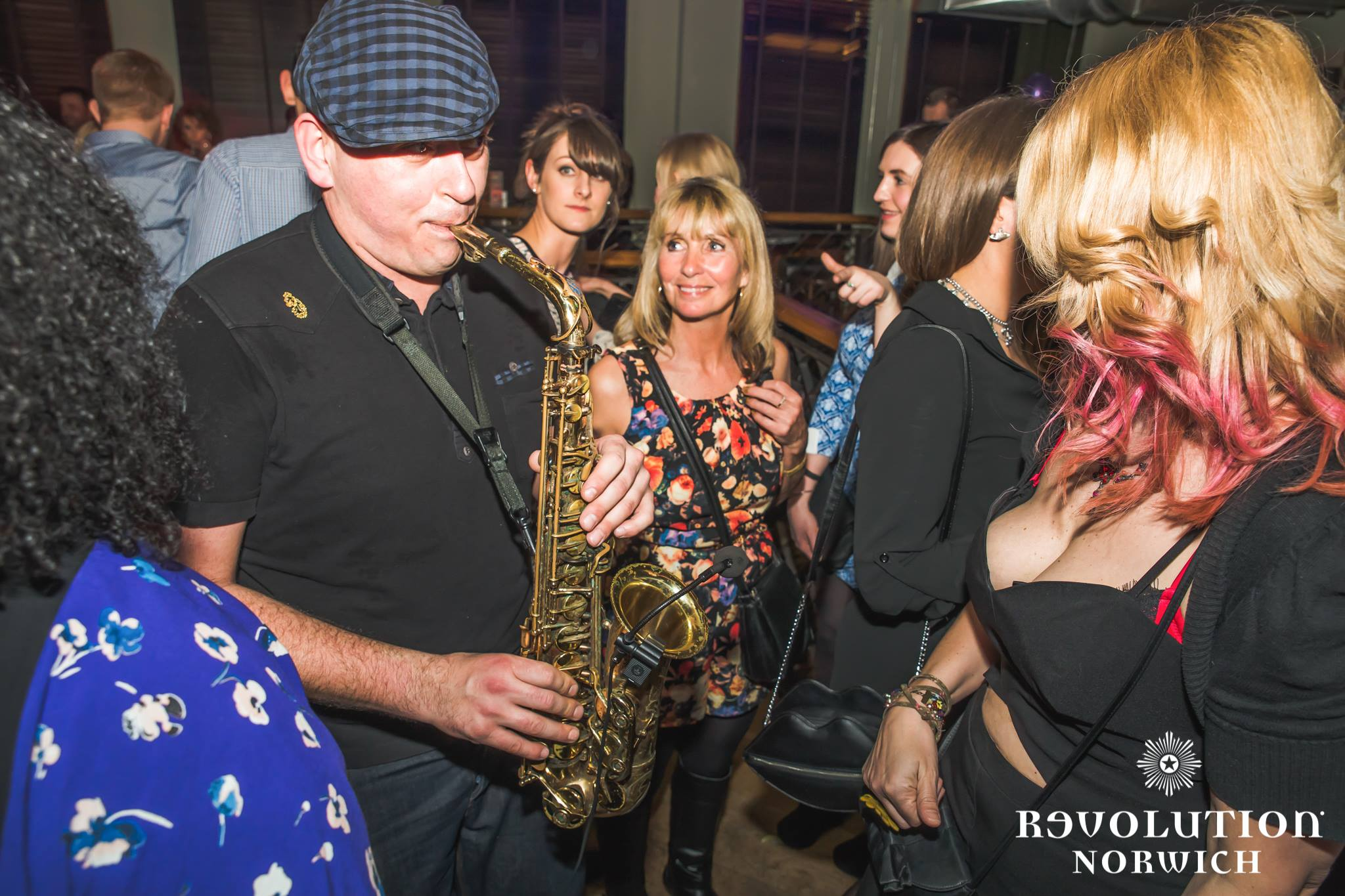 Revolution Norwich Andy Sax Saxophone House Music Club Classics Night Club Entertainer Saxophonist